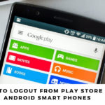 How to Logout from Play Store in Android Smart Phones