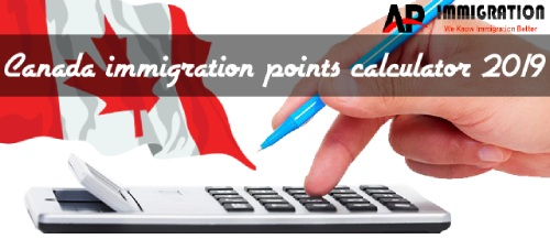 what is the Canadian Immigration CRS Points Calculator system 2019