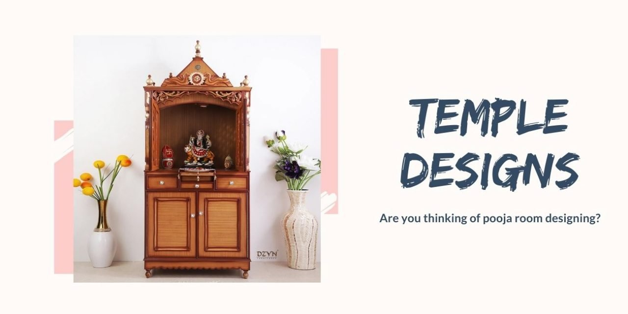 Wooden Temple Design Ideas For Home